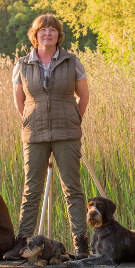Astrid Willert Jagdhunde-Ausbildung